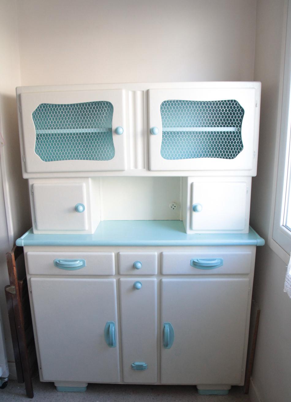 Cheap grand vaisselier cuisine et un meuble bas formica blanc en france clasf with buffet - Buffet cuisine formica ...